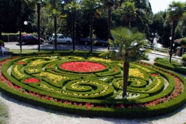 Labyrinth blumen