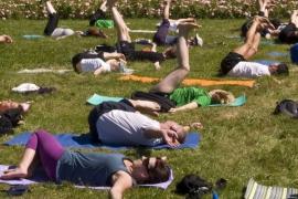 joga na trawie 2010
