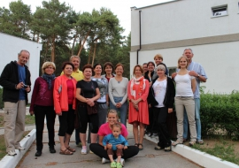 Wypoczynek z Jogą nad morzem 9-16 czerwca 2012 Łukęcin.